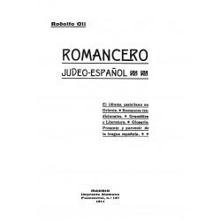 Romancero Judeo Español