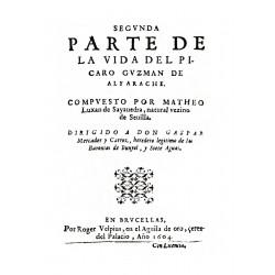 Segunda parte de la vida del Pícaro Guzmán de Alfarache