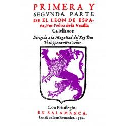Primera y segunda parte de El León  de España