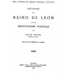 Orígenes del Reino de León y de sus Instituciones políticas