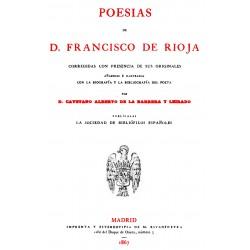Poesías de Francisco de Rioja