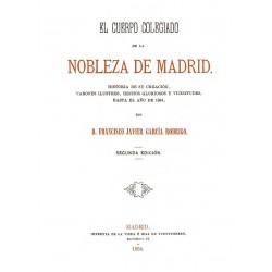 El Cuerpo Colegiado de la Nobleza de Madrid