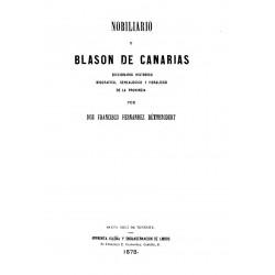 Nobiliario y Blasón de Canarias
