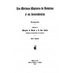 Los merinos mayores de Asturias ( y del apellido Quiñones ) y su descendencia