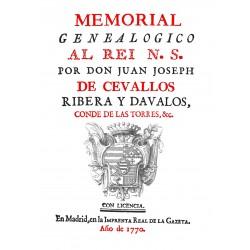 Memorial genealógico al Rey Nuestro Señor