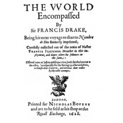 The World Emcompassed by Francis Drake