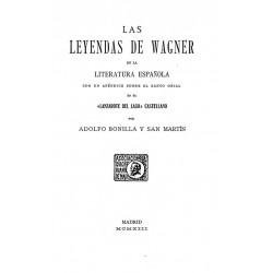 Las leyendas de Wagner en la literatura española