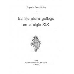 La literatura gallega en el siglo XIX
