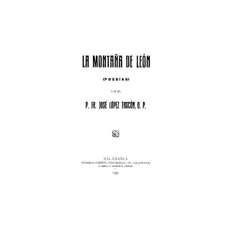 La montaña de León ( poesías)