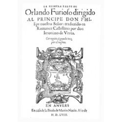 LA primera parte de Orlando Furioso
