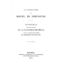 La sepultura de Miguel de Cervantes