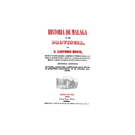 Historia de Málaga y su provincia tomo 1