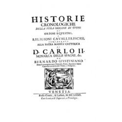 Histoire cronologiche della vera origine di tutti gli ordini equestri e religioni cavalleresche