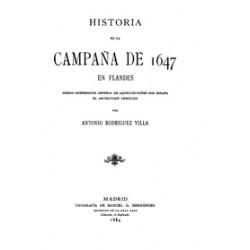 Historia de la campaña de 1647 en Flandes.