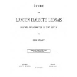 Etude sur L´ancien Dialecte Leonais daprés des Chartes du XIII siecle