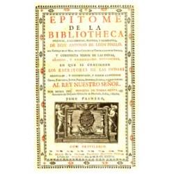 Epitome de la Bibliotheca oriental y occidental, náutica y geográfica