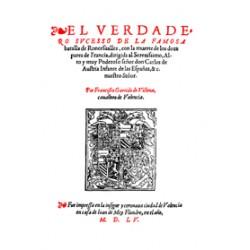 El verdadero suceso de la famosa batalla de Roncesvalles con la muerte de los doce pares de Francia