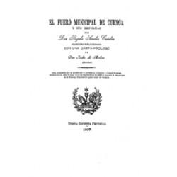 El Fuero Municipal de Cuenca y sus reformas