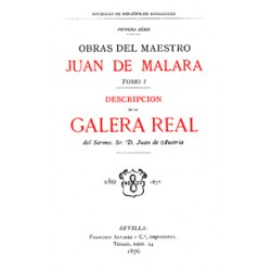 Descripción de la Galera Real del Serenísimo D. Juan de Austria