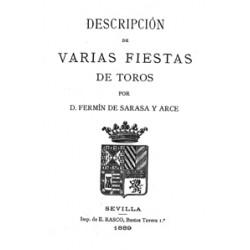 Descripción de varias fiestas de toros