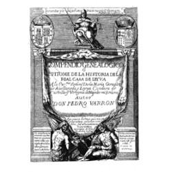 Compendio genealógico o Epítome de la Historia de la Casa Real de Leyva