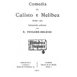 Comedia de Calixto y Melibea ( Burgos 1499)