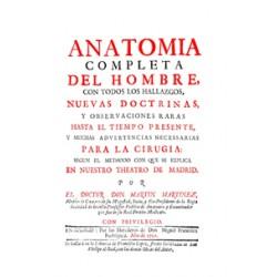 Anatomía completa del hombre con todos los hallazgos