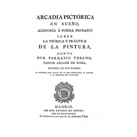 Arcadia pictórica en sueño.