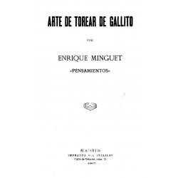 Arte de torear de Gallito