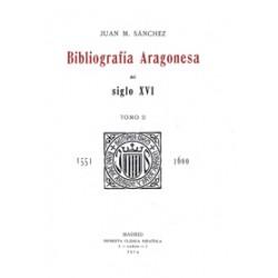 Bibliografía Aragonesa del siglo XVI