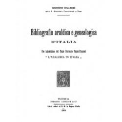Bibliografia Araldica e genealogica d´Italia