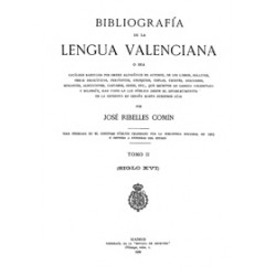 Bibliografia de la lengua valenciana