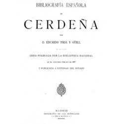 Bibliografía española de Cerdeña