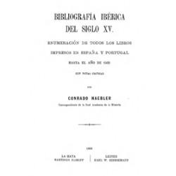 Bibliografía Ibérica del Siglo XV