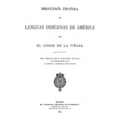 Bibliografiía española de lenguas indígenas de América