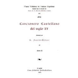 Cancionero Castellano del Siglo XV