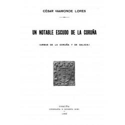 Un notable escudo de La Coruña
