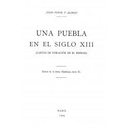 Una puebla del siglo XIII ( Carta de Población de El Espinar )