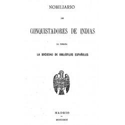 Nobiliario de los conquistadores de indias