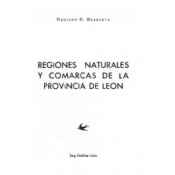 Regiones naturales y comarcas de la provincia de León