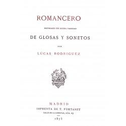 Romancero historiado con mucha variedad de glosas y sonetos