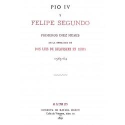 Pío IV y Felipe II