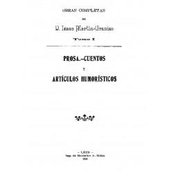 Obras completas de D. Isaac Martín Granizo