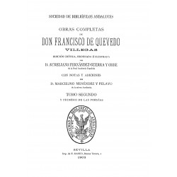 Obras completas de Francisco de Quevedo Villegas