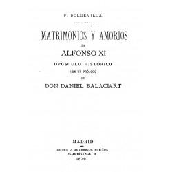 Matrimonios y amoríos de Alfonso XI