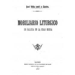 Mobiliario litúrgico de Galicia en la Edad Media