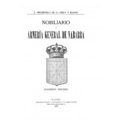 Nobiliario y armería general de Navarra