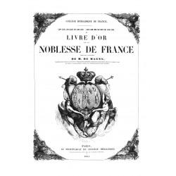 Livre dór de la Noblesse de France
