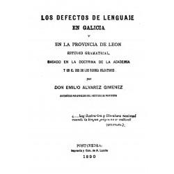 Los defectos del lenguaje en Galicia y en la provincia de León