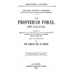 La propiedad Foral en Galicia